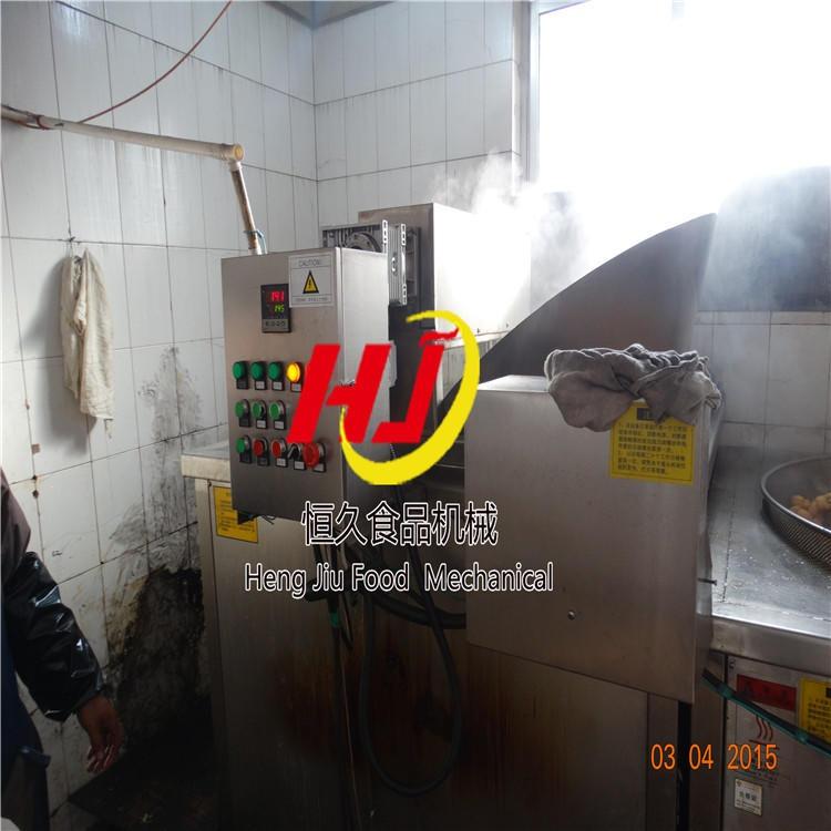 鲜薯片油炸机 自动控温油炸机 自动除渣油炸机 油炸拌料一站式购齐油炸机厂家