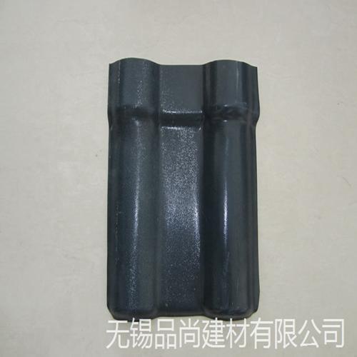 南京直销灰色ASA合成树脂瓦/品尚塑钢瓦工厂报价/别墅屋面树脂瓦价格