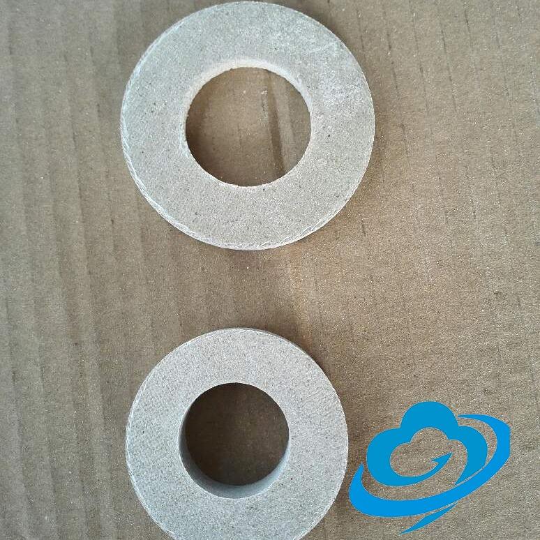 HP-8有机硅云母垫加工件 耐高温云母圆垫 云母法兰垫片 耐高温绝缘垫片 云母板加工定做