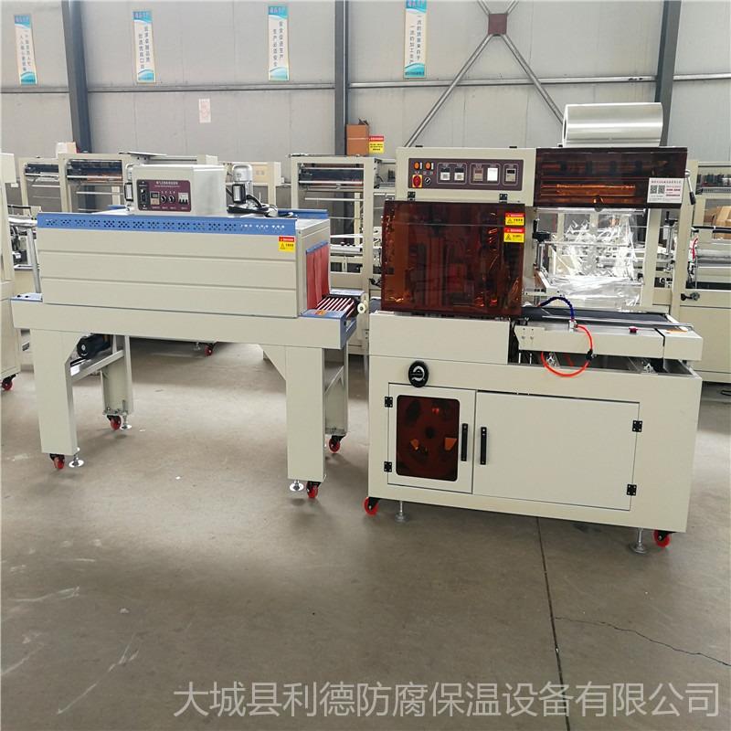 生产汽车空气滤芯包膜机收缩机 全自动膜包机 用途广泛热收缩膜包装机械