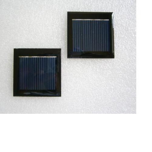 供應中德太陽能滴膠板組件,zd49-49用于小夜燈,草坪燈充電板圖片