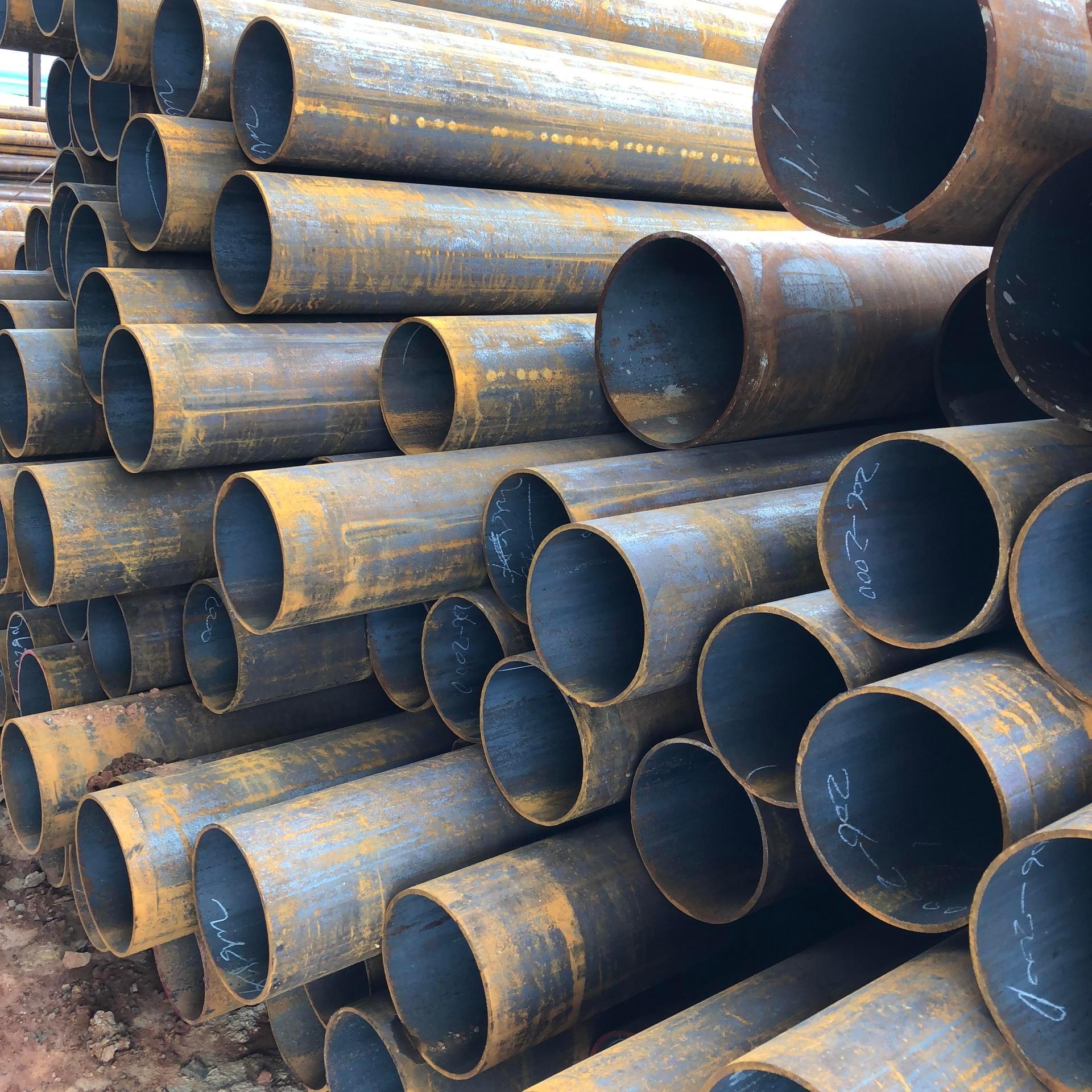 昆明批發大小口徑厚壁管 45號碳鋼管  云南直銷45號鋼管