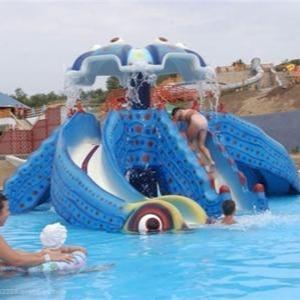 儿童游乐设备 章鱼滑梯 水上乐园设备厂家专业生产制造 章鱼儿童滑梯