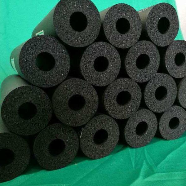厂家直销橡塑管 防冷冻防结露防火管道橡塑海绵管 b1级b2级橡塑管