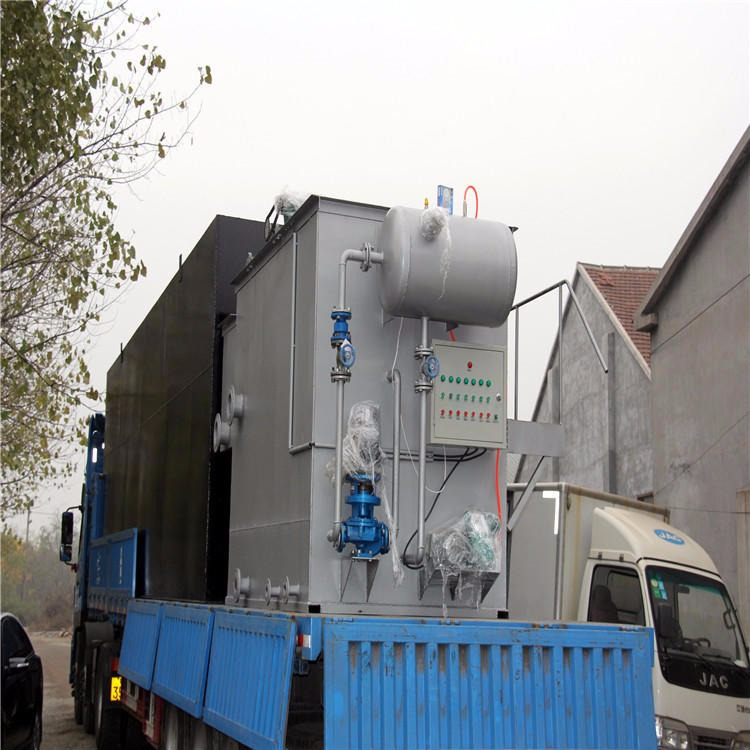 塑料清洗污水处理设备 纸箱生产污水处理一体化设备 化学沉淀溶气气浮机