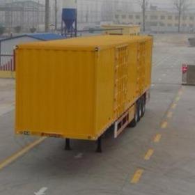 12米新款轻型翼展式半挂车价格 厂家直销定做箱式运输半挂车