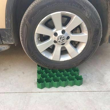 白山植草格久邦建材直供 7公分、5公分、4公分塑料植草格停车场 绿化带植草格 久邦建材植草格