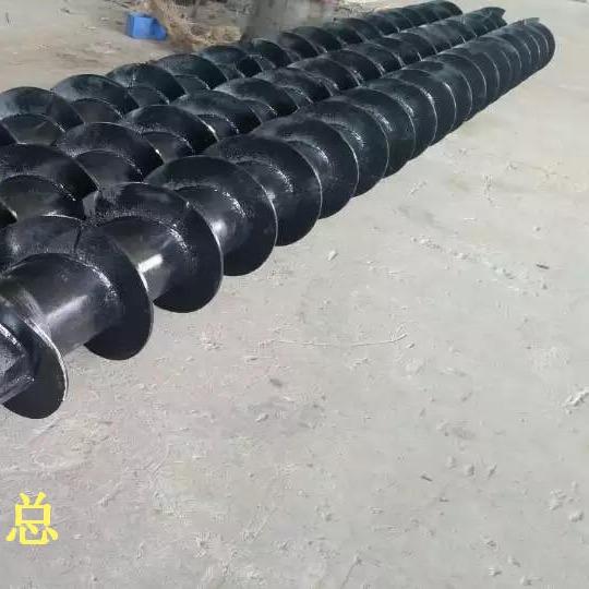 长螺旋钻杆 、长螺旋钻头、 加气螺旋钻具中原桩工制造