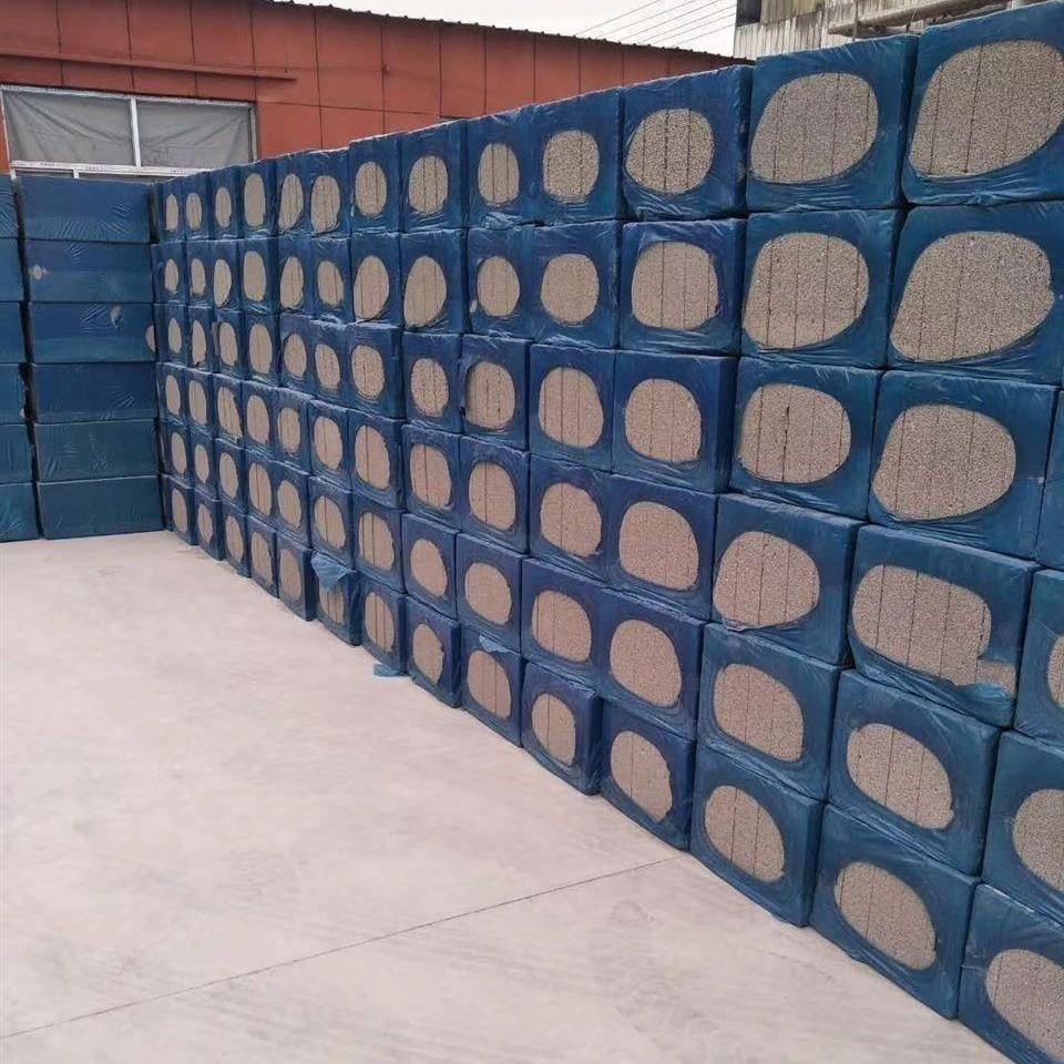 天聚工厂 水泥发泡板 外墙防火隔离带 轻质保温隔热发泡水泥板价格 屋面墙体保温建材