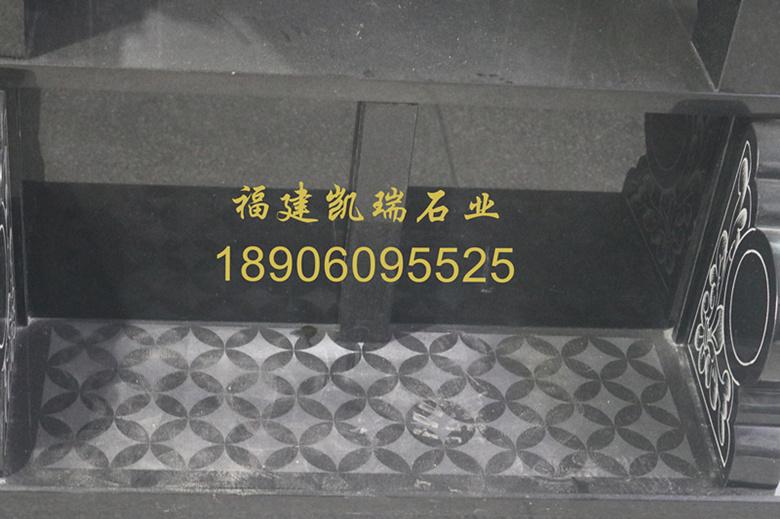 上海墓碑厂家直销山西黑墓碑 城市公墓墓碑 墓碑造型可支持定制示例图10
