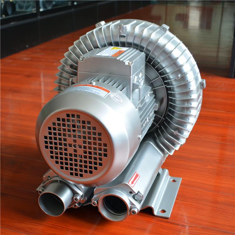 地坪打磨高压风机,地面打磨高压风机,地面打磨吸尘高压风机,新型地坪打磨除尘旋涡气泵,纽瑞RH-810-3旋涡鼓风机示例图3