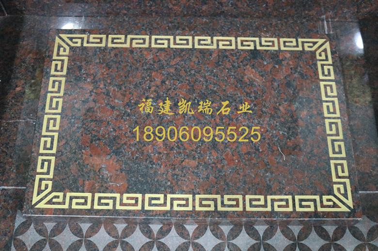 福建墓碑厂家凯瑞石业直销英国棕墓碑 墓碑造型可支持定制 批发量大价格优惠示例图7