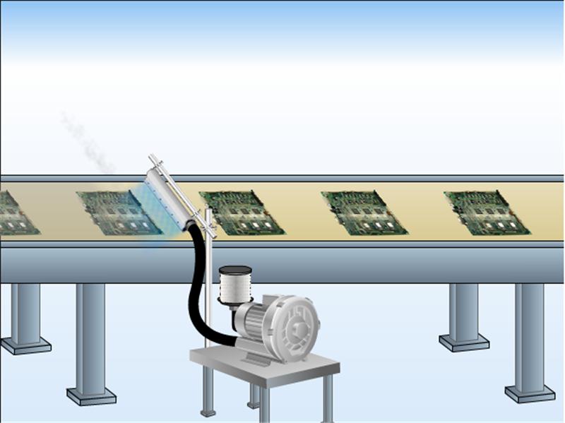高精密铝合金风刀水滴式铝合金风刀玻璃吹水吹干专用风刀示例图10