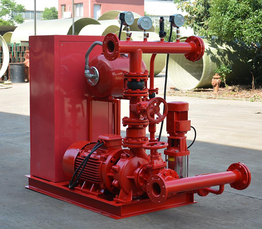 上海喜之泉EJ12.0/15-2-GPM250 双动力消防泵,30kw小型双动力消防泵,消防泵示例图4