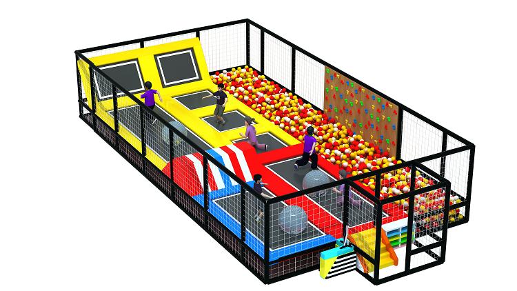 大型室内体能概念主题综合体儿童乐园,小勇士体验式儿童乐园,网红项目儿童乐园示例图10