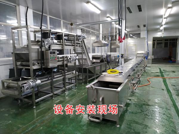 诸城市诚达豆腐干设备,QQ豆干设备机器,QQ豆干烘干设备示例图6
