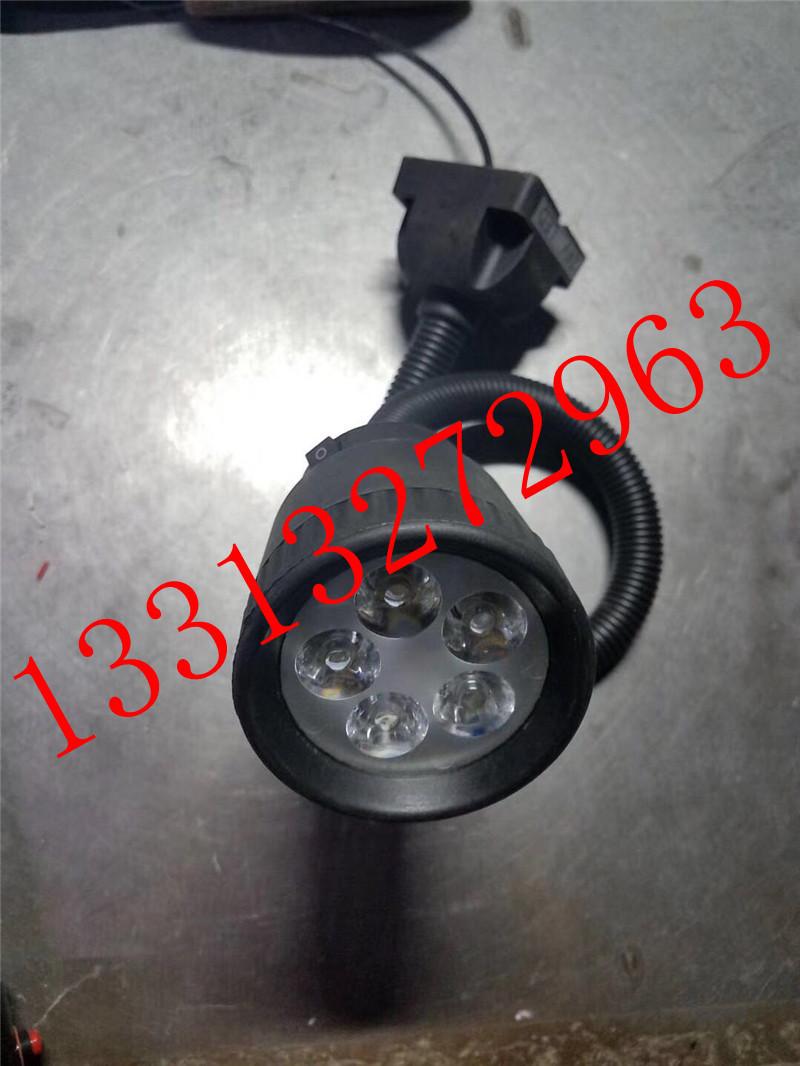 昊旭品牌36VLED分散片照明灯 50D6珠软管万向灯 小方座工作灯 LED机床工作灯示例图1