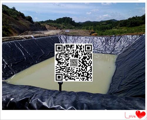 福州土工膜生产厂家直销高位池海水养虾hdpe防渗膜0.35mm美标黑色光面价格示例图7
