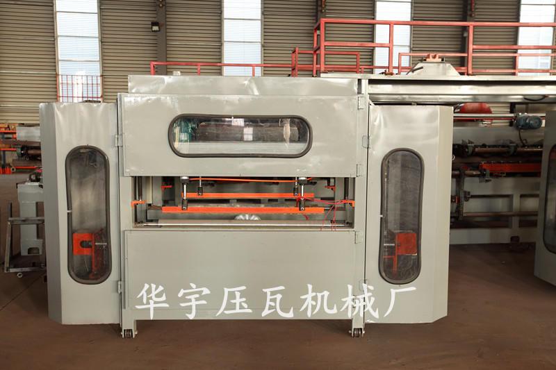 华宇全自动复合板机 岩棉夹心板生产设备 180mm胶轴岩棉机 彩钢复合板生产线示例图10