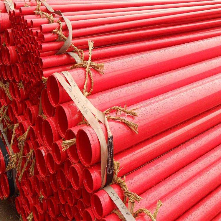 河北龙都内外涂塑钢管 PE涂塑管厂家 环氧树脂涂塑复合钢管示例图3