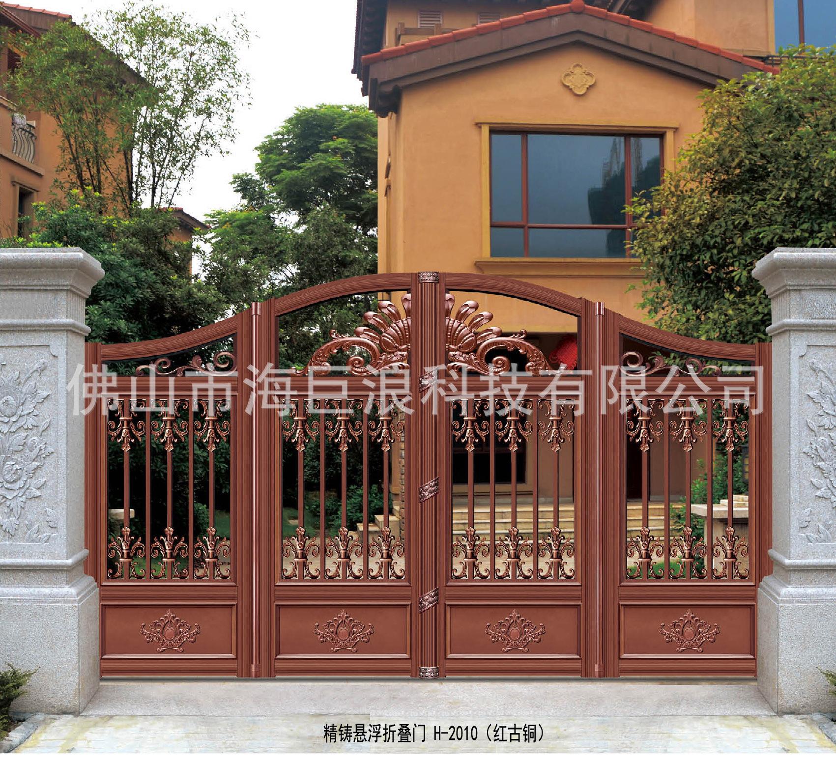 精鑄懸浮折疊門 H-2010(紅古銅).jpg