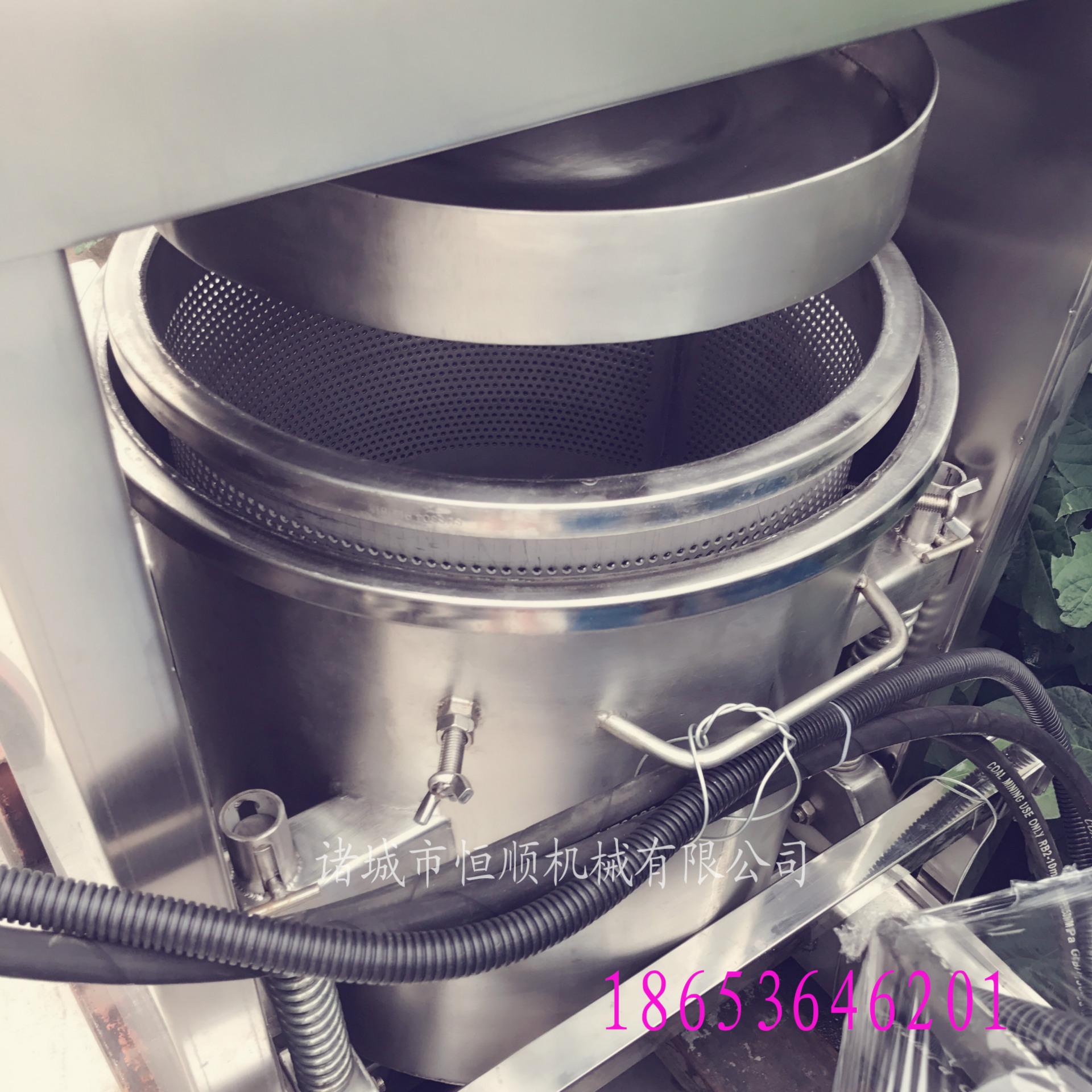 发酵中药原液提取压榨机 中药酵素过滤杂质压滤机 药泥固液分离机示例图59