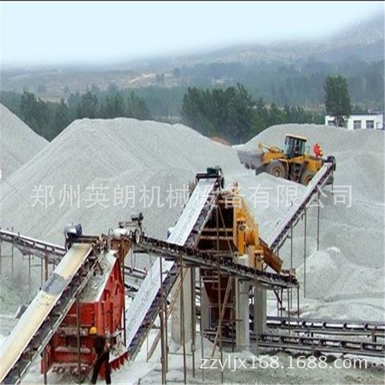 优质砂石骨料生产线 方解石制沙生产线 风化砂石破碎生产线流程示例图8