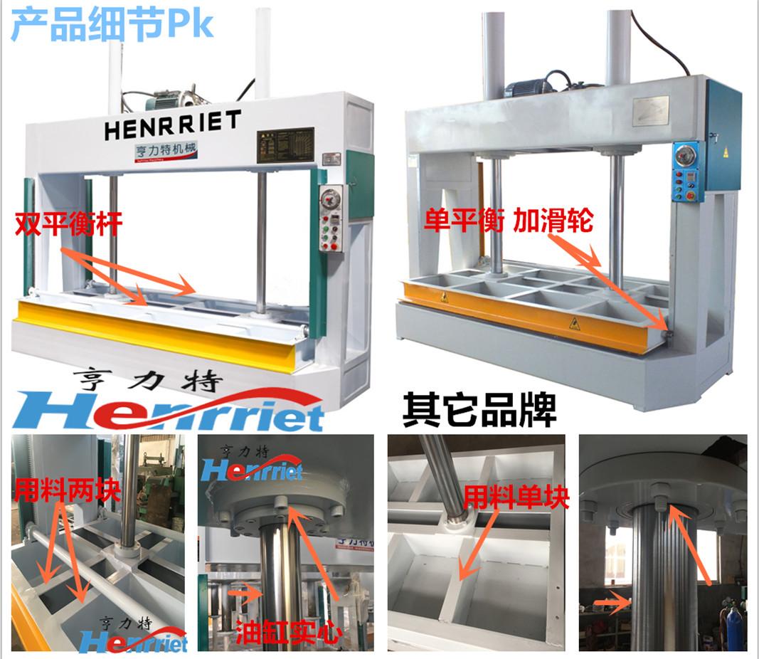 亨力特液壓冷壓機HLT3248-50t鋁蜂窩板冷壓機示例圖5
