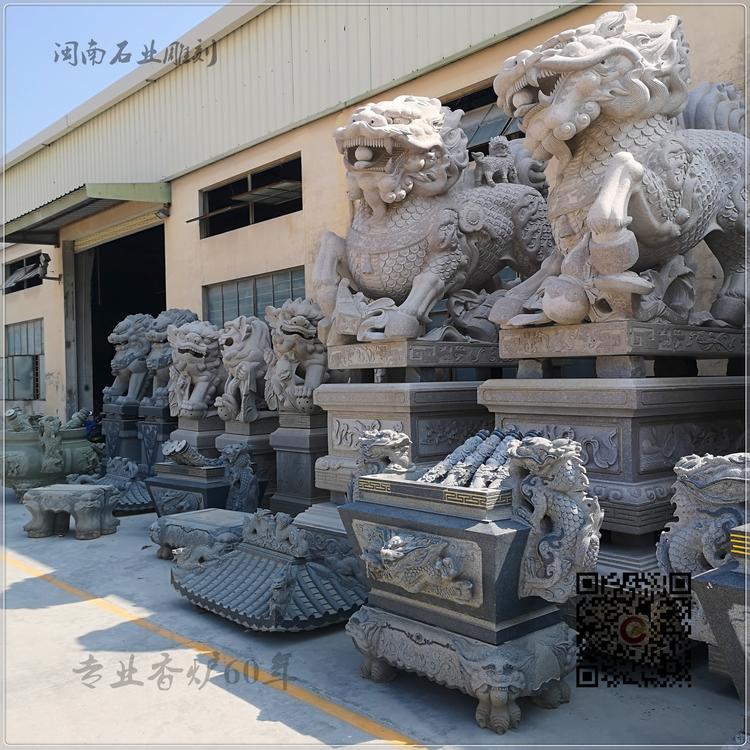 厂家批发 石雕香炉 龙图案香炉 寺庙香炉 墓地香炉厂家直销示例图9