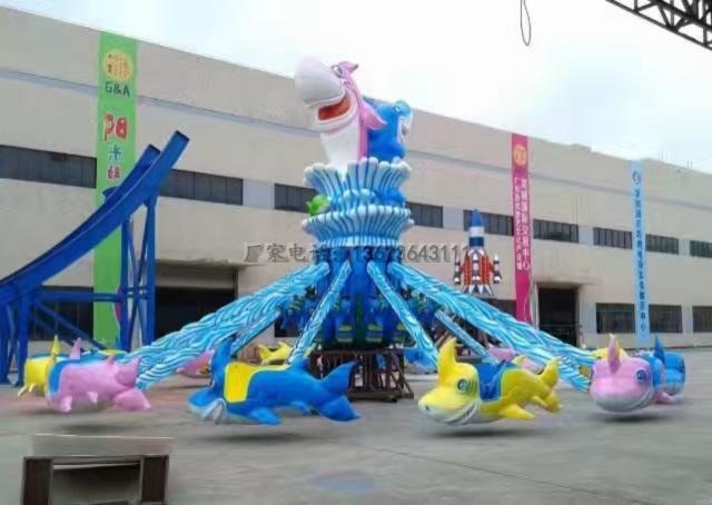 儿童游乐设备桑巴气球 厂家直销 郑州大洋8臂桑巴气球公园游乐示例图44