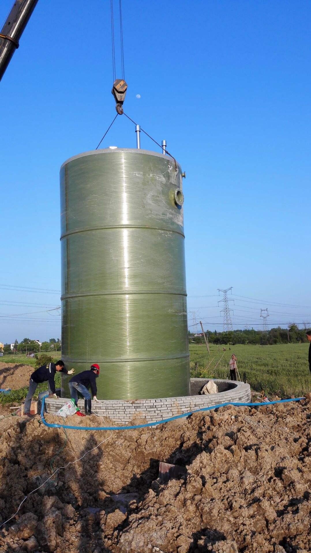 一體式預制提升泵站污水提升設備示例圖5
