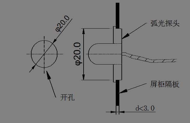 廠家直供數據中心開關柜中低壓母線保護安科瑞ARB5系列弧光保護裝置過電壓防護示例圖10