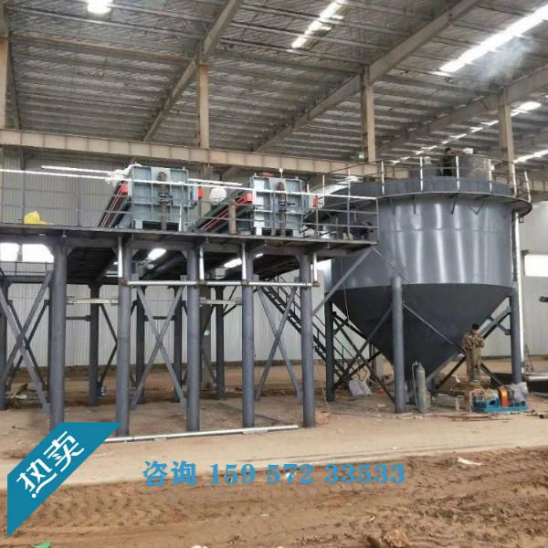 洗砂废水处理设备,洗砂废水泥浆压滤机,石粉洗砂废水泥水分离机示例图3