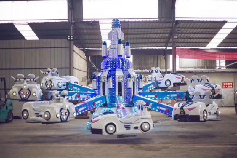 欢乐喷球车户外儿童游乐设备 大洋游乐厂家直销轨道欢乐喷球车示例图30