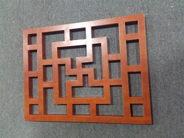 苏州仿古镂空花窗定制厂家 个人设计定制家里铝窗花 门窗装饰建材批发示例图8