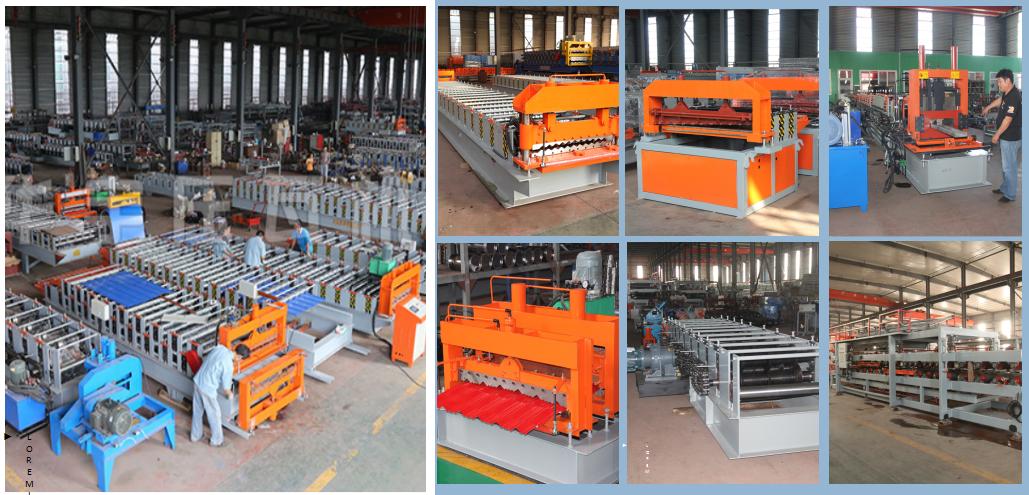 华宇楼承板机厂家 供应100/1025楼层板机 楼板成型设备 钢结构承重板成型机示例图8