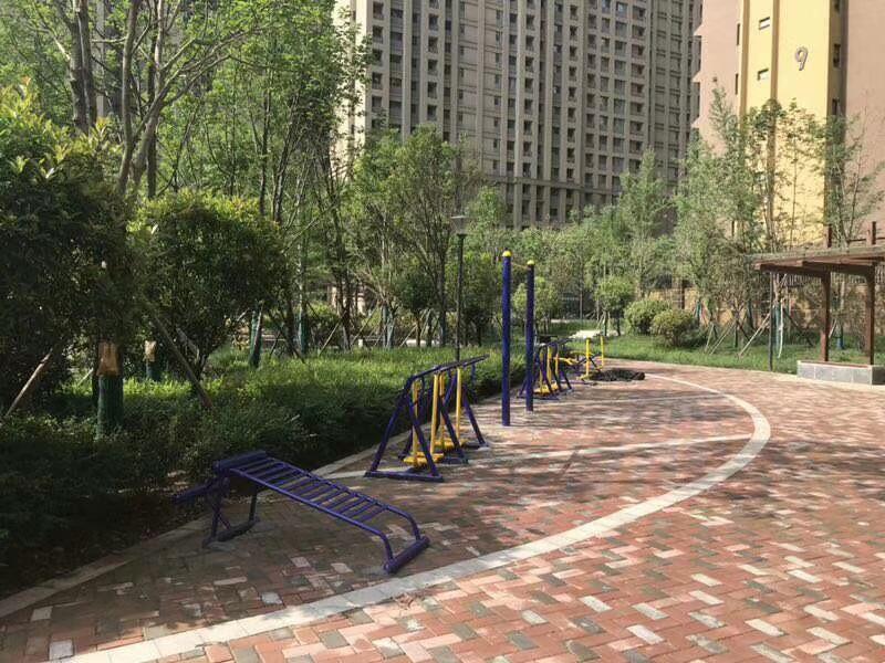销售公园小区单人健骑机  室外健身器材  户外健身路径 增强体质示例图12