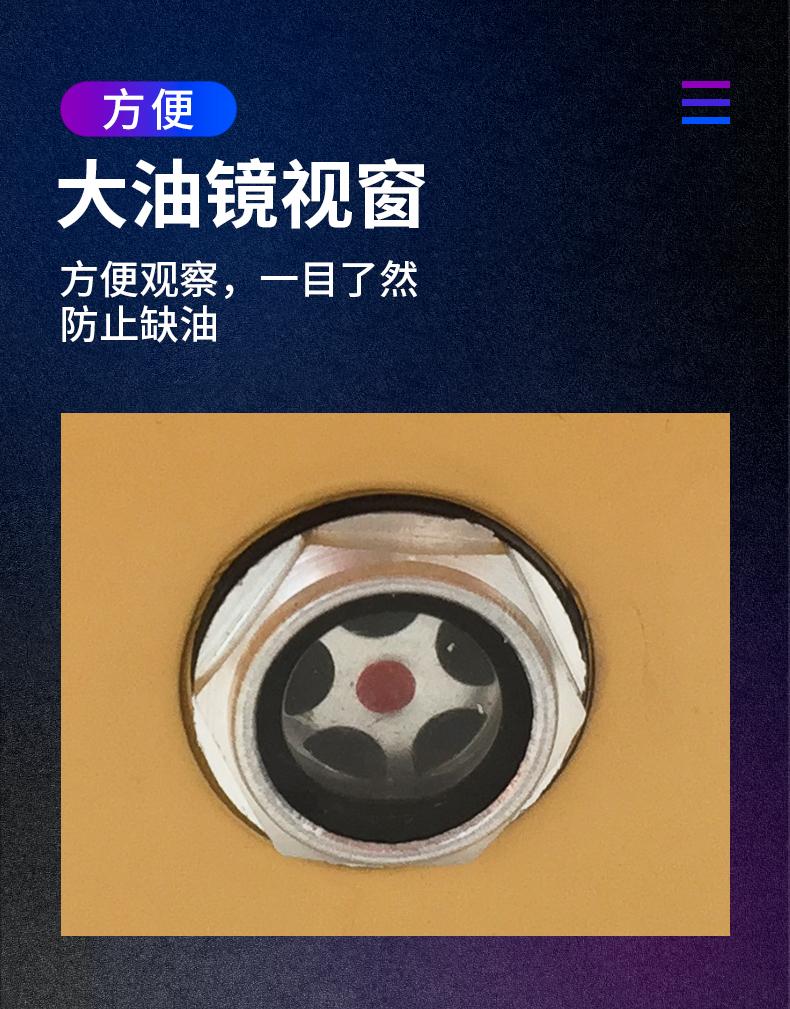 上海泓冠 2XZ-2 旋片式真空泵 实验室旋片式真空泵 真空机厂家示例图4