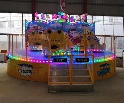 儿童游乐设备桑巴气球 厂家直销 郑州大洋8臂桑巴气球公园游乐示例图16