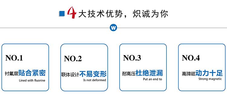 氟塑料磁力自吸泵,ZMD型防腐蝕耐酸堿泵,襯氟化工防泄露磁力驅動泵示例圖4