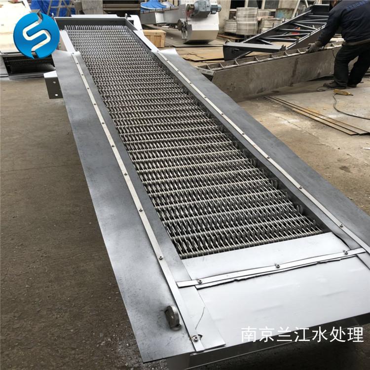 南京兰江GSHZ回转式格栅清污机,猪粪格栅捞污机示例图11