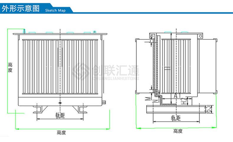 S11-200kva地埋式变压器 厂家直销地埋变压器 景观式地埋变压器-创联汇通示例图4