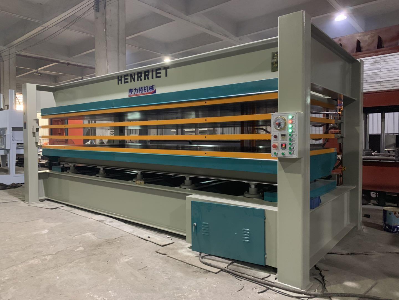 亨力特hlt3248-120t貼木皮熱壓機,木工家具貼面熱壓機尺寸,非標可以定制示例圖18