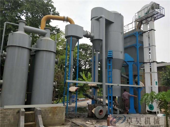 卓昊固定床生物質氣化爐直徑1.5-3米木塊氣化設備價格秸稈氣化爐價格示例圖13