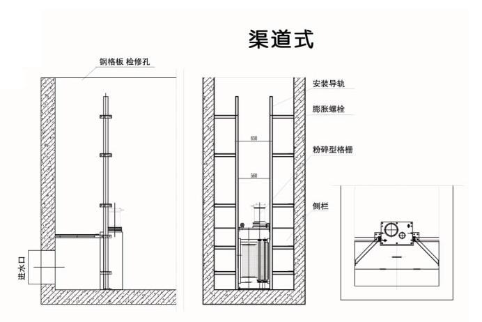 FS-700渠道粉碎格栅,破碎式机械格栅示例图11