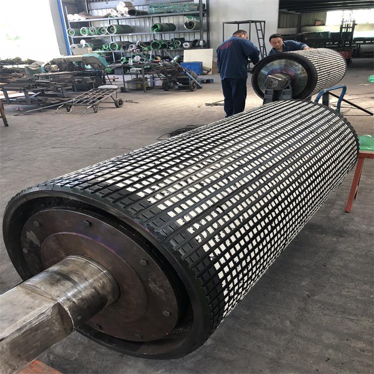 贵州滚筒包胶陶瓷胶板生产厂家  无需打磨陶瓷胶板示例图6