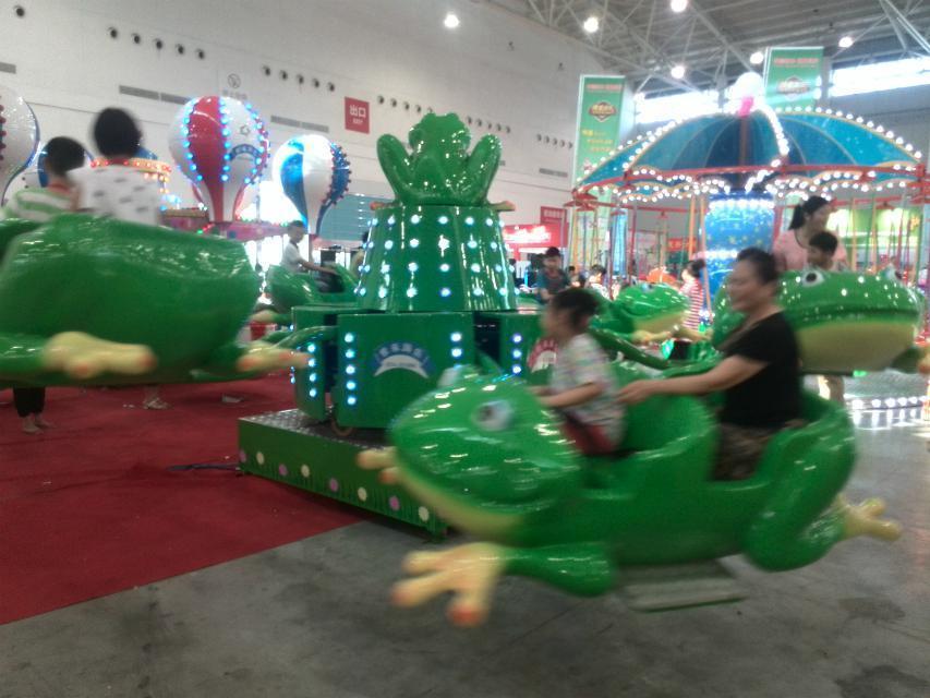儿童12座迷你飞椅游乐设备 旋转飞椅大洋游乐厂家专业定制生产示例图55