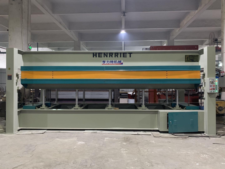 亨力特hlt3248-120t貼木皮熱壓機,木工家具貼面熱壓機尺寸,非標可以定制示例圖22