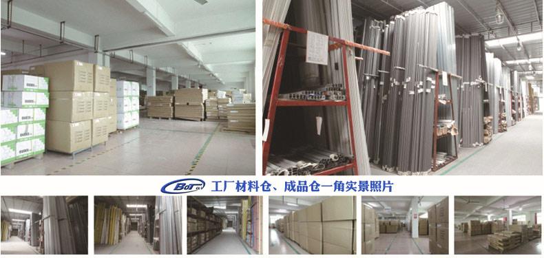 屏风工作位 隔断办公桌 南京屏风隔断 组合办公桌 卓文办公家具 HD-31示例图7