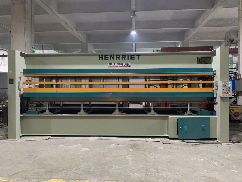 亨力特hlt3248-600t三聚氰氨貼面熱壓機,木工家具貼面熱壓機,生態板貼面熱壓機,尺寸非標可以定制示例圖32